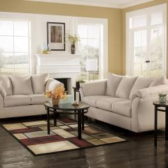 Ashley Darcy Sofa Decorating Ideas Living Room White Signature Design By Stone Contemporary