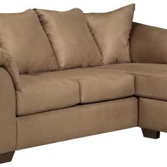 Darcy Sofa Chaise Ashley Furniture Repair Puchong Signature Design By Mocha Contemporary