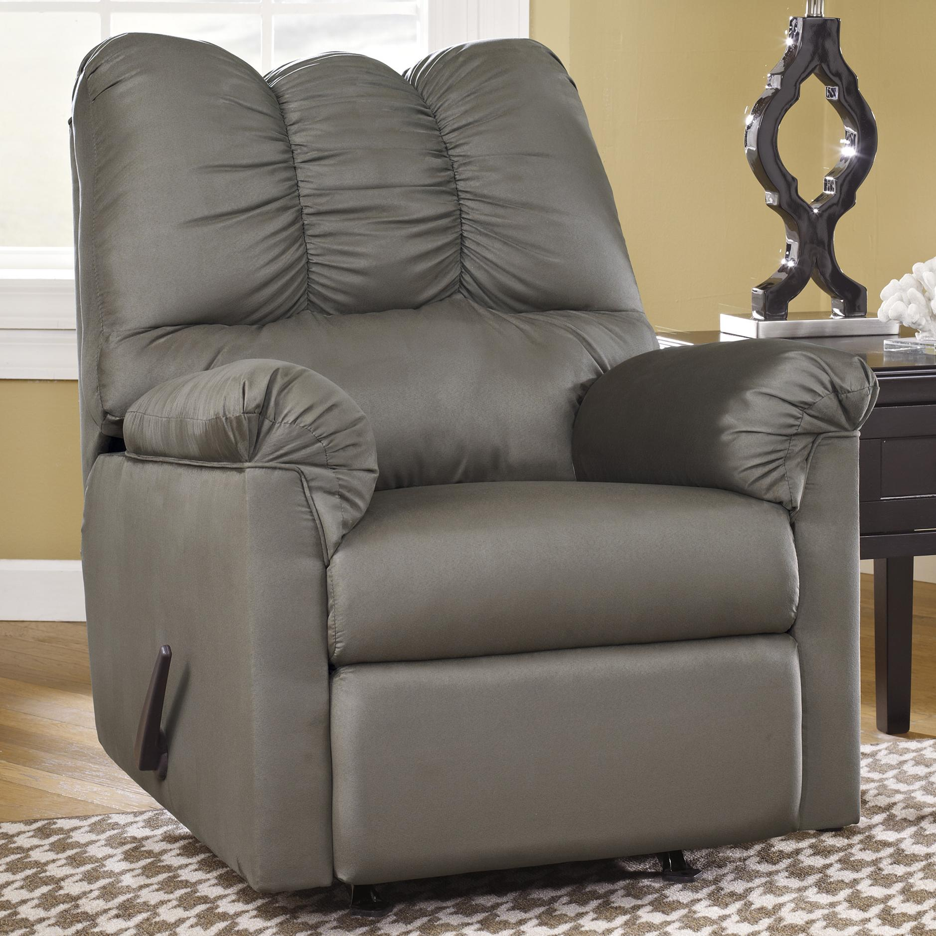 Ashley Recliner Chair Ashley Signature Design Darcy Cobblestone 7500525 Rocker