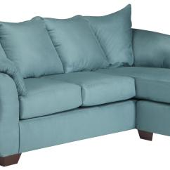 Darcy Sofa Chaise Ashley Furniture Floor Protectors For Reclining Signature Design Sky 7500618 Contemporary