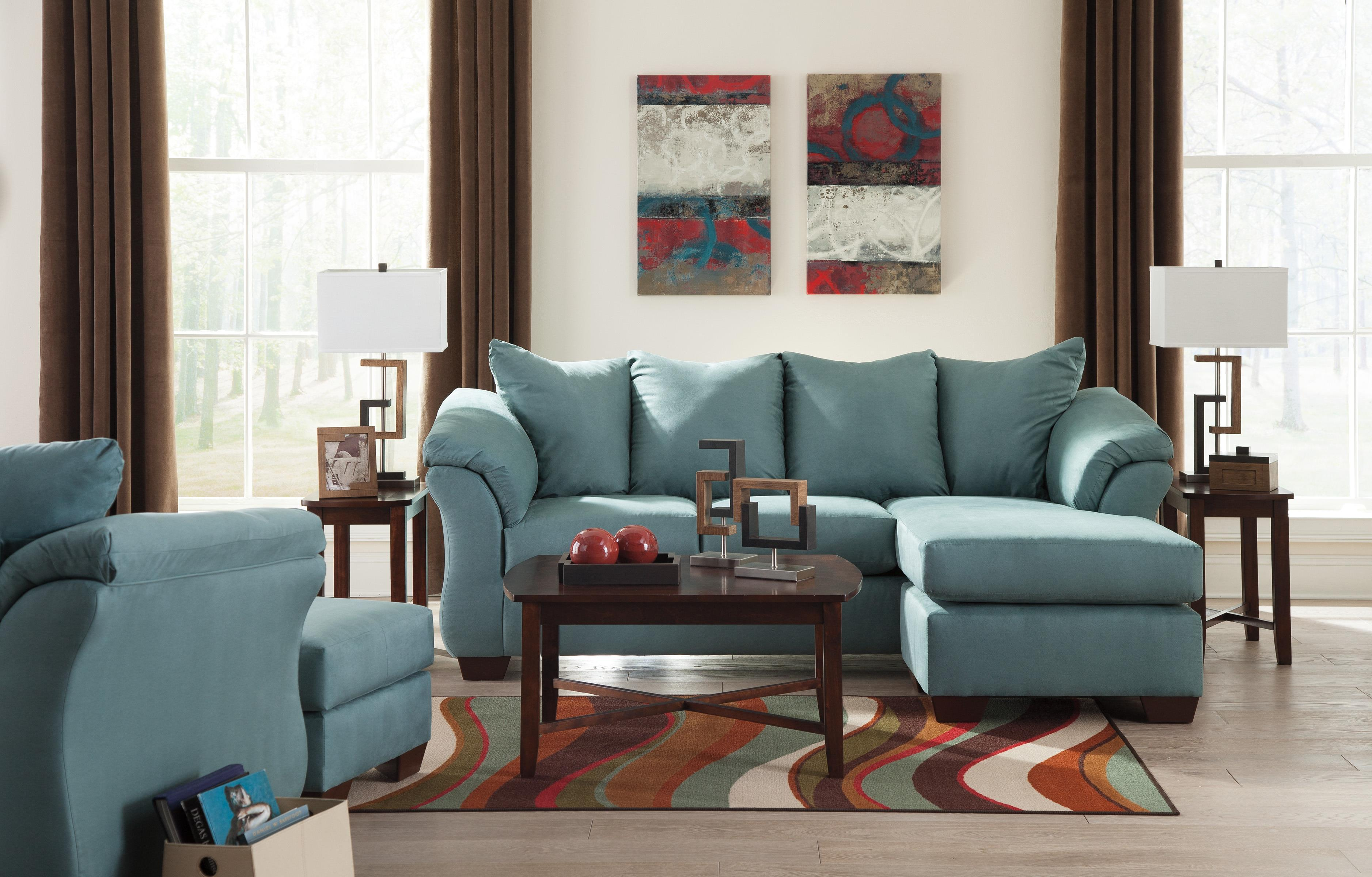 darcy sofa chaise ashley furniture extra large leather sectional sofas signature design by sky 7500618