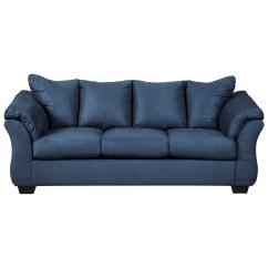 Modern Pillows For Sofas Ergonomic Sofa Bed Signature Design By Ashley Darcy Blue Contemporary