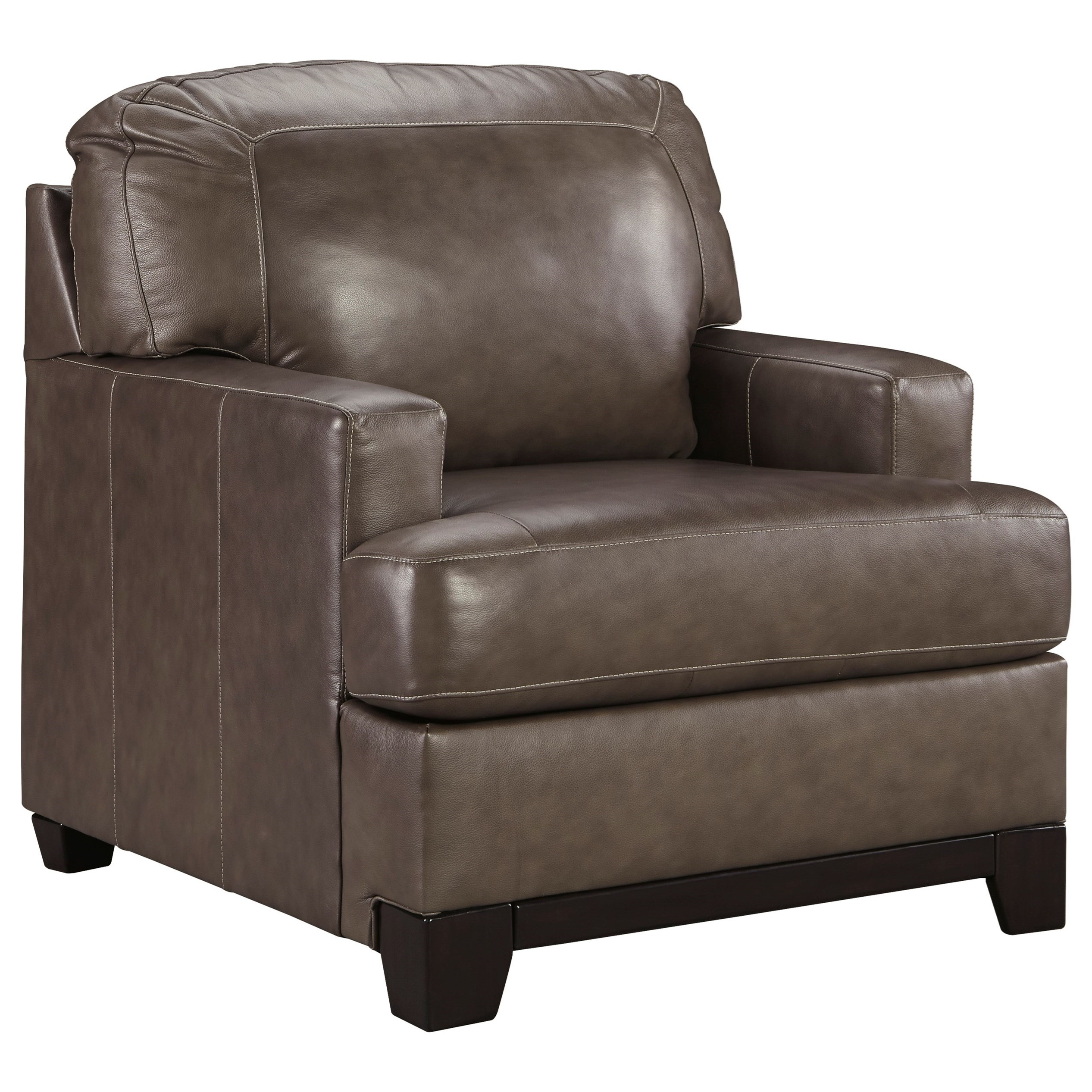Ashley Furniture Leather Chair Signature Design By Ashley Derwood 8800320 Contemporary