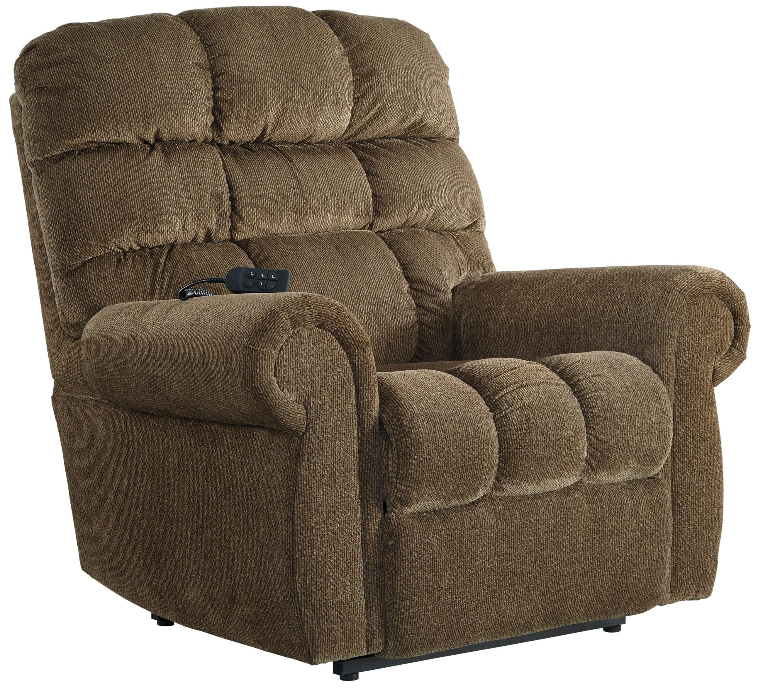 Lift Chairs Recliners Signature Design By Ashley Ernestine 9760212 Power Lift