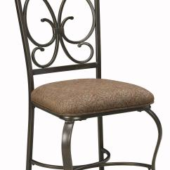 Steel Net Chair Elegant Vanity Chairs Signature Design By Ashley Glambrey D329 01 Dining