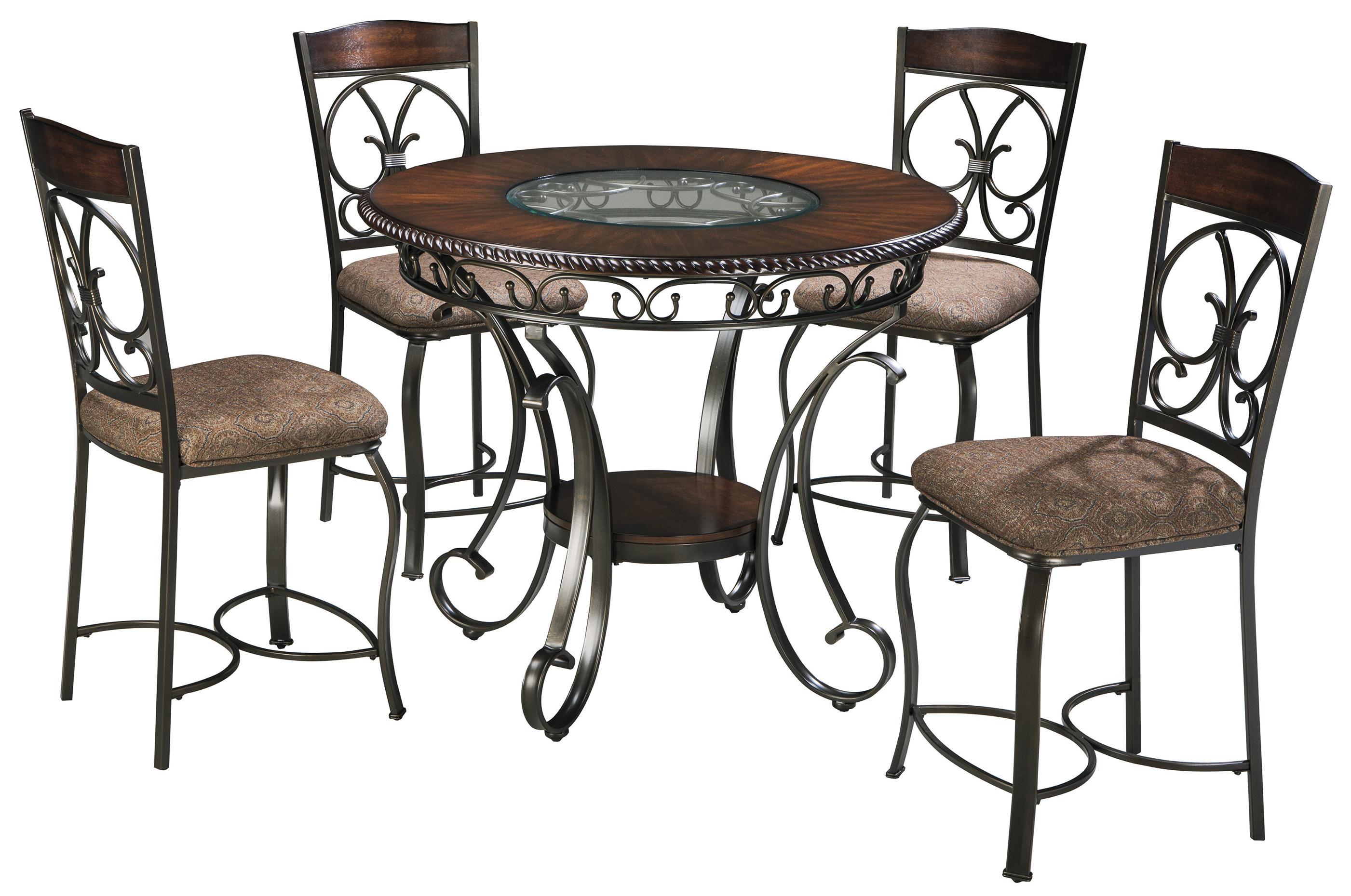 Ashley Furniture Table And Chairs Signature Design By Ashley Glambrey Round Dining Table And