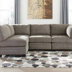 Leather Vs Fabric Sofa India Modern Corner Uk Elegant 4 Piece Modular Sectional Sofas