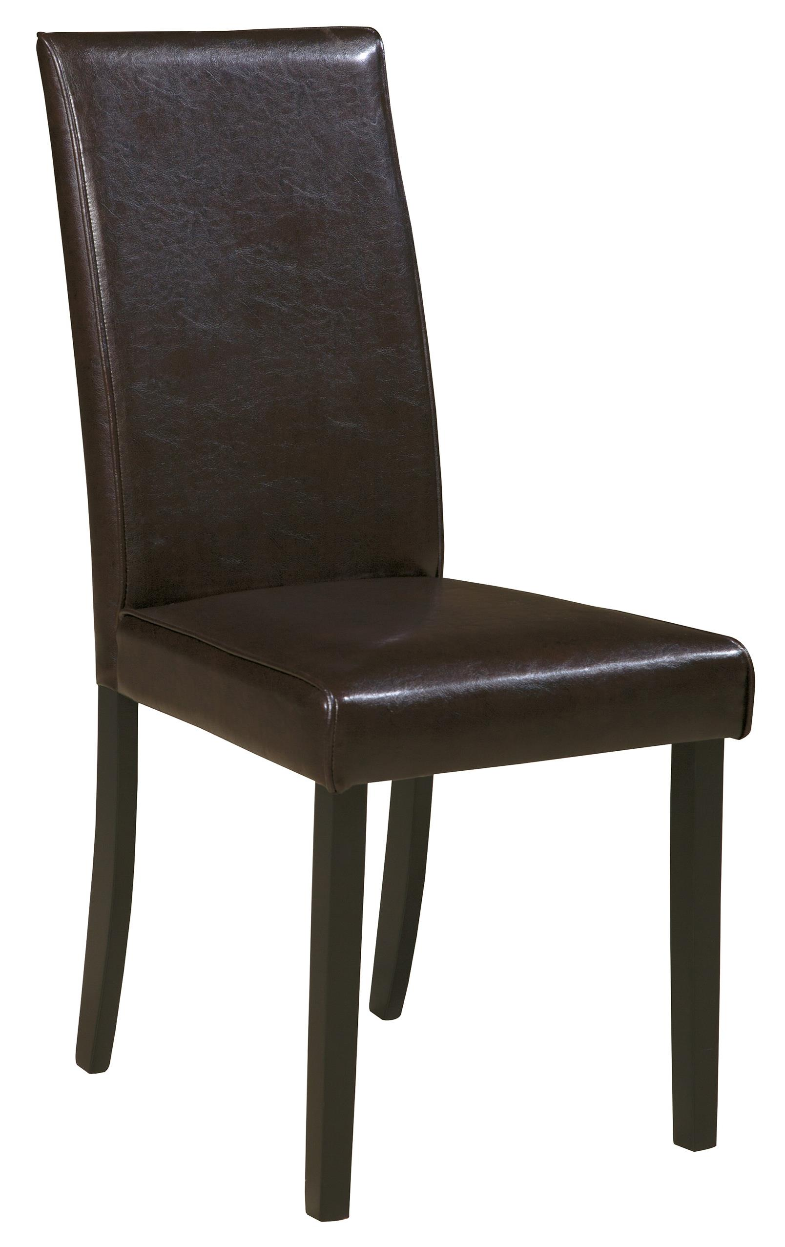 dining end chairs bucket racing chair signature design by ashley kimonte upholstered side