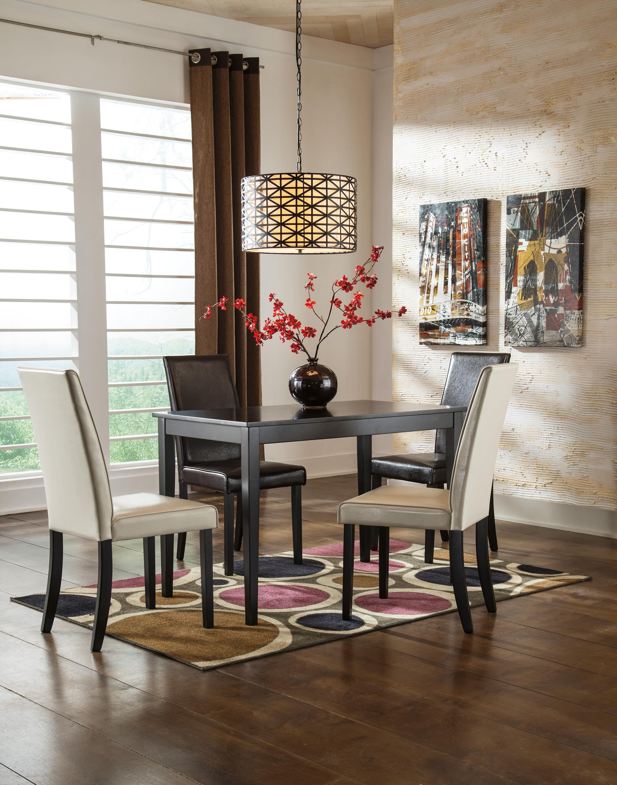 Ashley Dining Room Chairs Ashley Signature Design Kimonte D250 02 Dining Upholstered