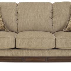 Queen Sleeper Sofa Memory Foam Mattress Low Set Design Signature By Ashley Lanett With