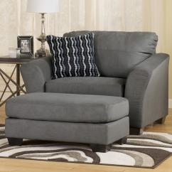 Oversized Chair And Ottoman Set Staples Turcotte Review Wide Sofa Arm 3 Seat Hivemodern Thesofa