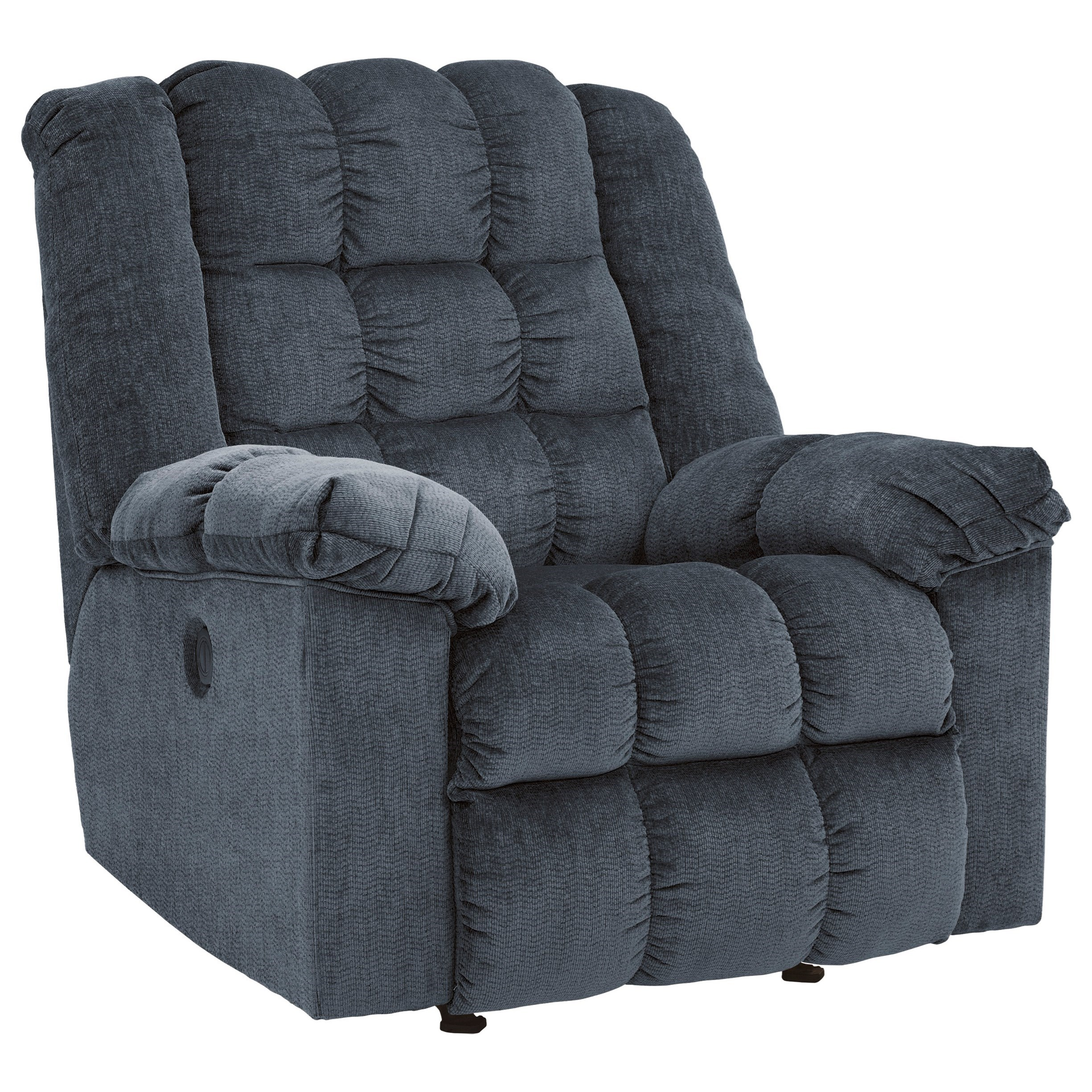 Ashley Recliner Chair Ashley Signature Design Ludden Blue 8110598 Power Rocker