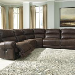 Sectional Sofas And Recliners Sleeper Sofa Slipcover Full Signature Design By Ashley Luttrell 5 Piece Faux Leather