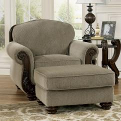 Chair And A Half Rocker With Ottoman Walmart Travel High Signature Design By Ashley Furniture Martinsburg Meadow