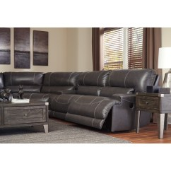 3 Pc Sectional Sofa With Recliners Baby Chair Dubai Signature Design By Ashley Mccaskill Contemporary Piece