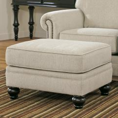 Milari Sofa Ashley Furniture Plush White Leather Signature Design By Linen Transitional
