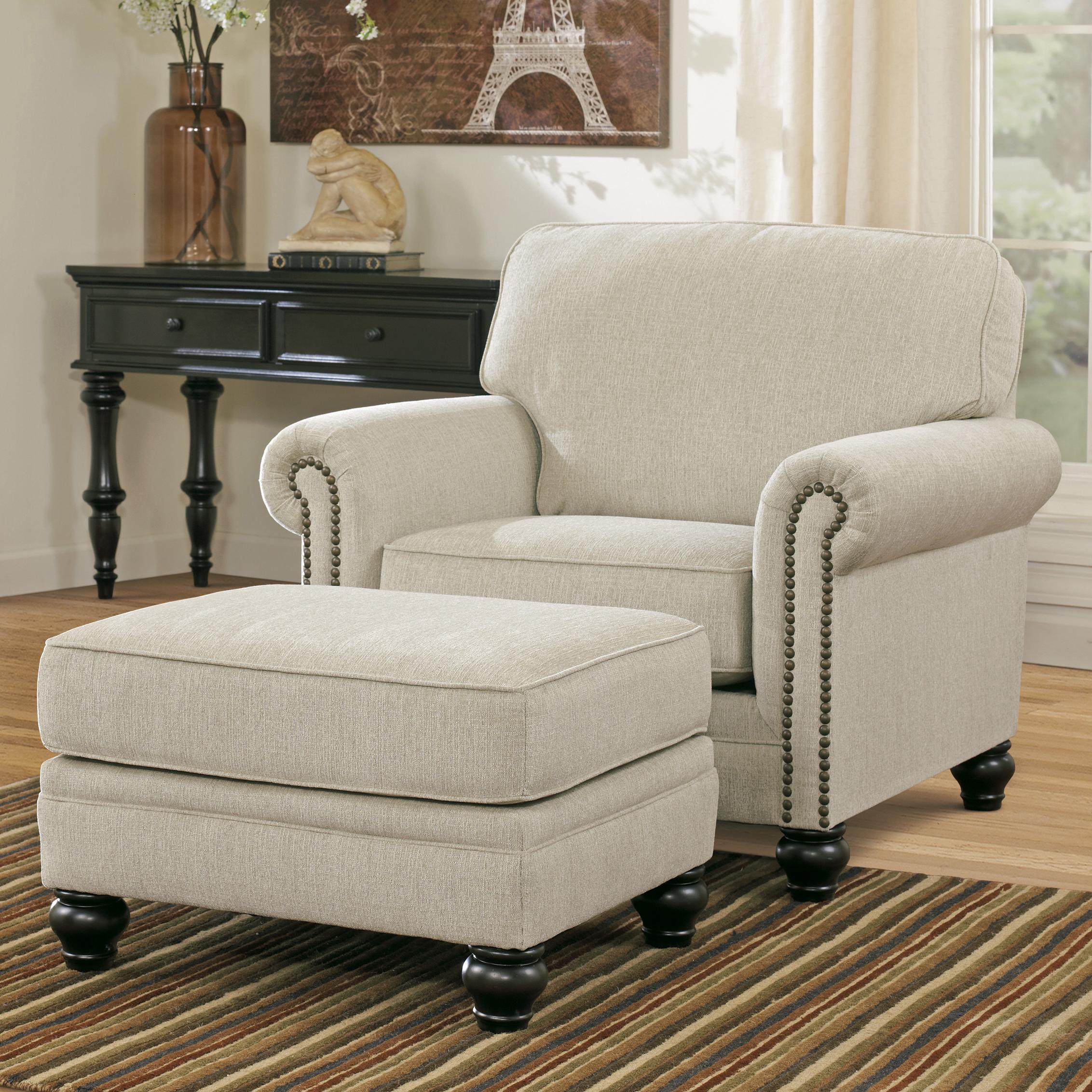 chair and a half rocker with ottoman gioteck rc5 gaming signature design by ashley milari linen transitional