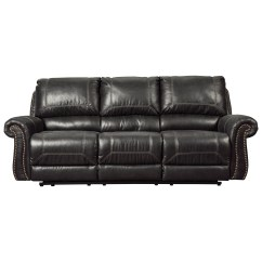Nailhead Recliner Sofa Pull Out Bed Lazy Boy Signature Design By Ashley Milhaven Reclining With