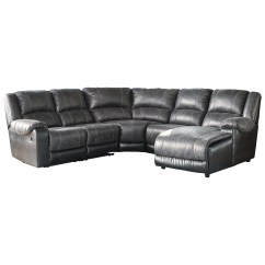 Ashley Cohes Sofa Chaise Electric Recliner Costco Signature Design Nantahala Faux Leather Reclining
