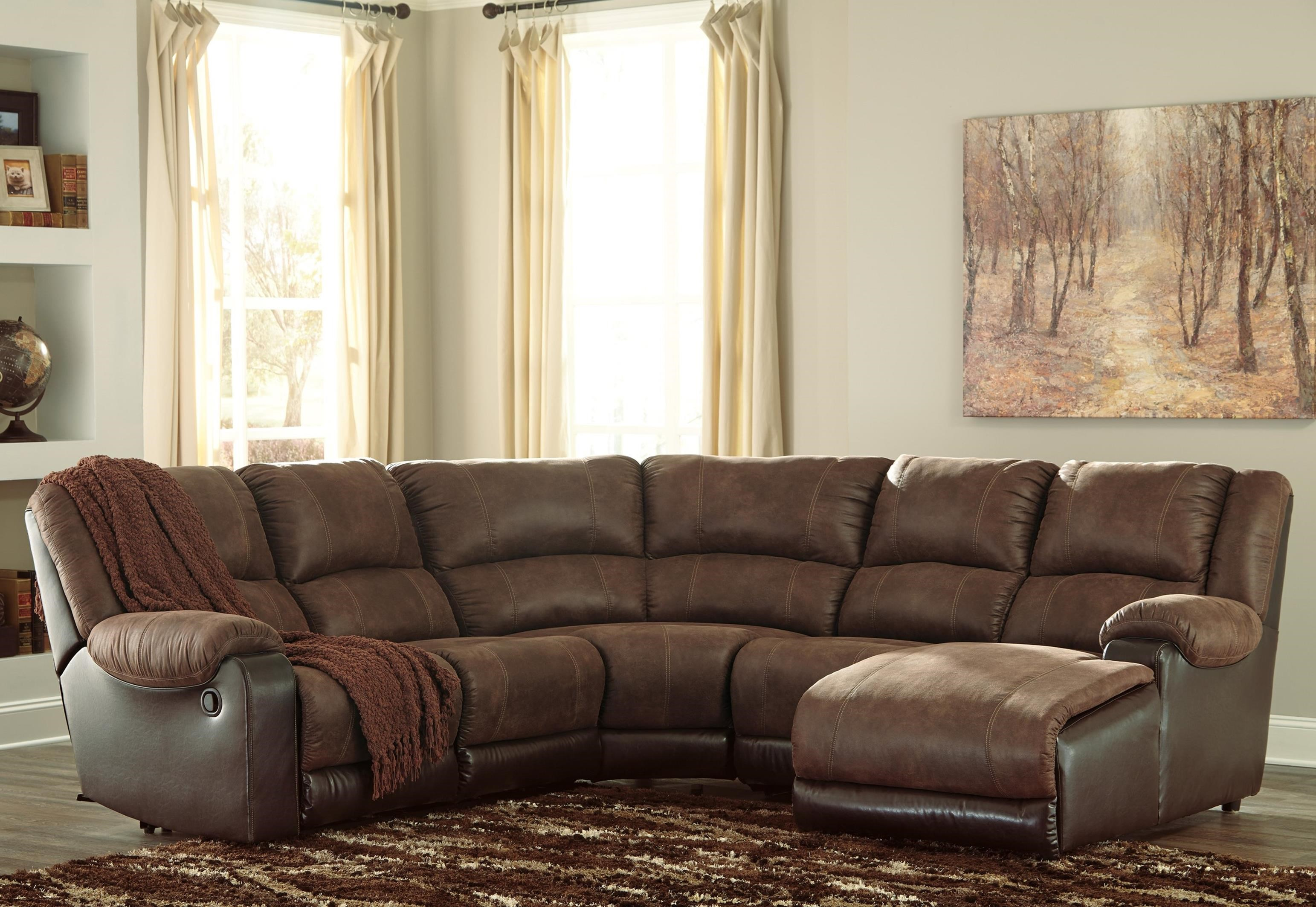 ashley sofa recliners loveseat chair set signature design by nantahala faux leather