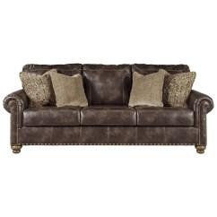 Nailhead Trim Sofa Ashley Images Of L Shaped Sofas Signature Design By Nicorvo Traditional Queen