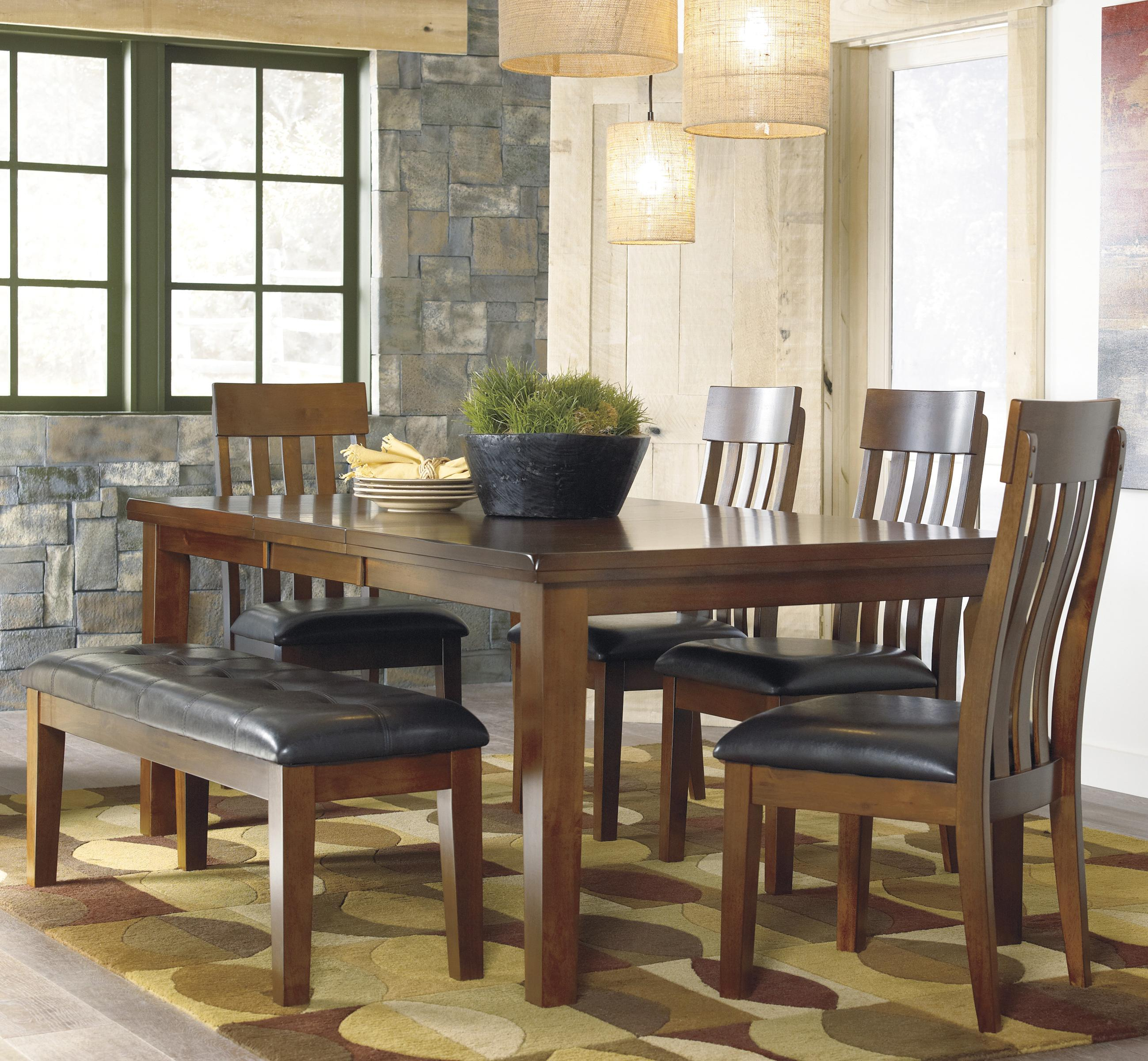 Ashley Furniture Dining Chairs Ashley Signature Design Ralene Casual 6 Piece Dining Set