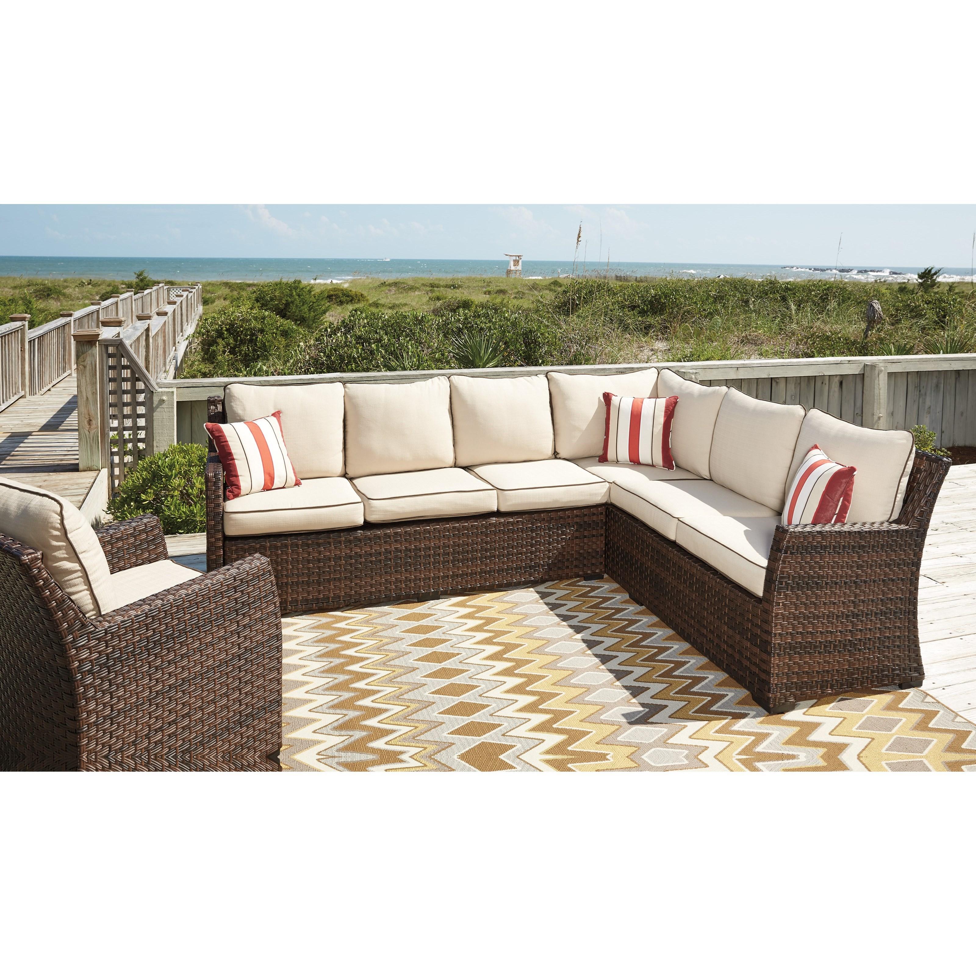 outdoor sofa lounge furniture singapore signature design by ashley salceda 2