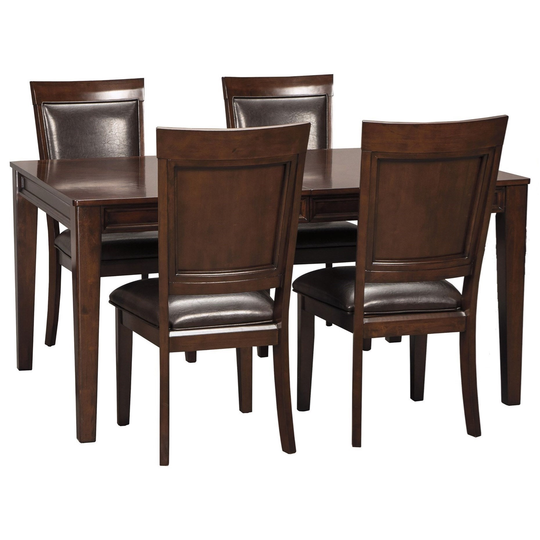 Ashley Dining Room Chairs Signature Design By Ashley Shadyn Rectangular Dining Room