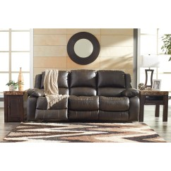 Faux Leather Power Reclining Sofa Modular Australia Signature Design By Ashley Slayton 8920187
