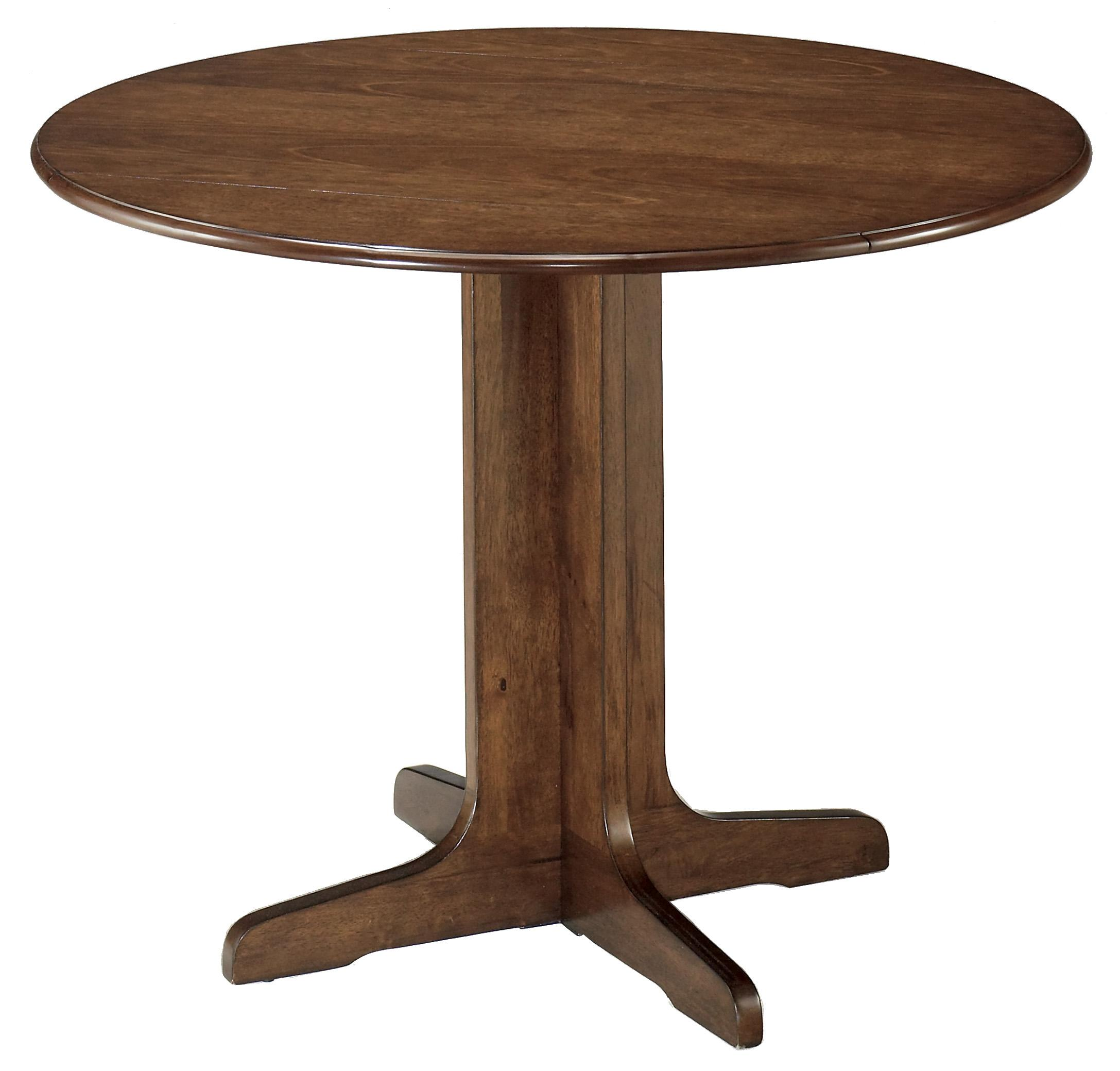 Drop Leaf Table With Chairs Ashley Signature Design Stuman D293 15 Round Drop Leaf