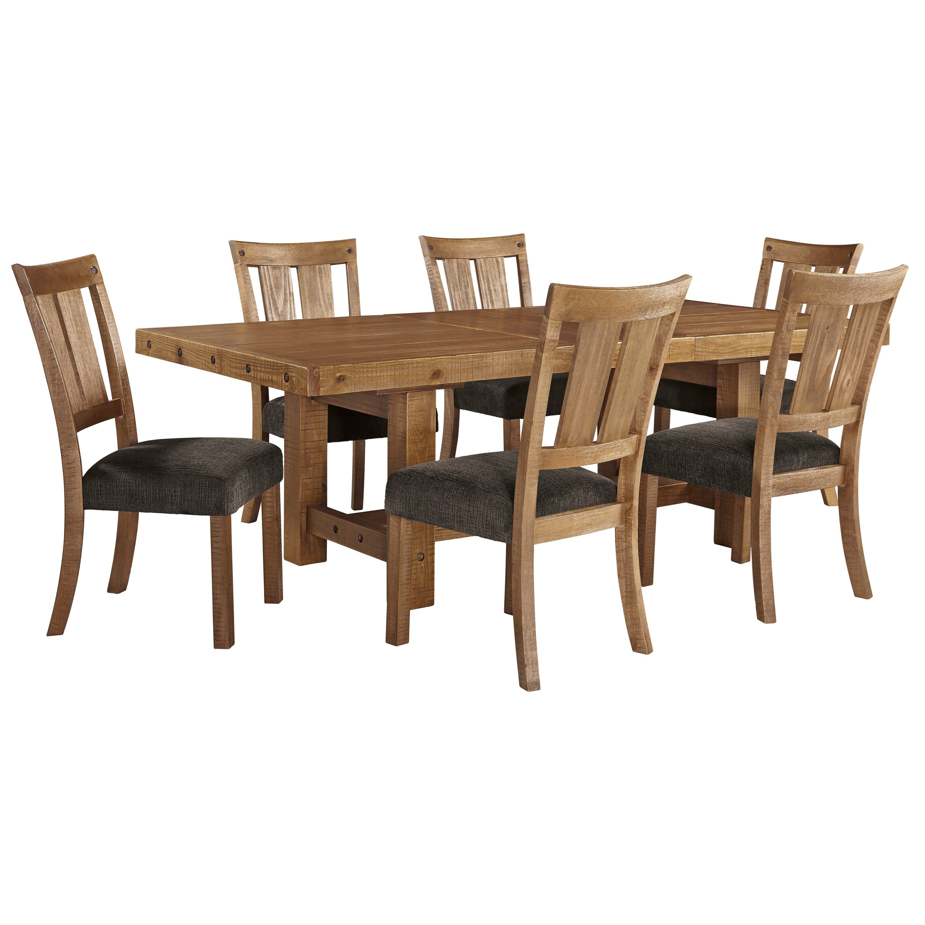 Ashley Furniture Table And Chairs Signature Design By Ashley Tamilo 7 Piece Table And Chair
