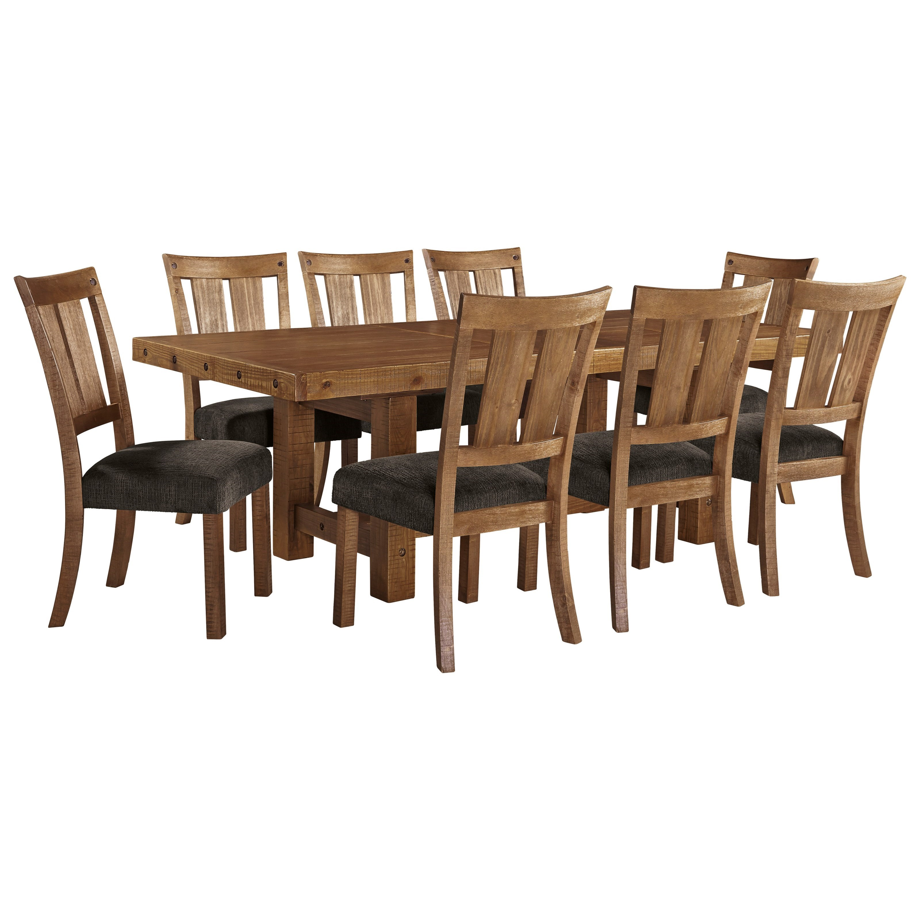 chair design set narrow rocking signature by ashley tamilo 9 piece table and