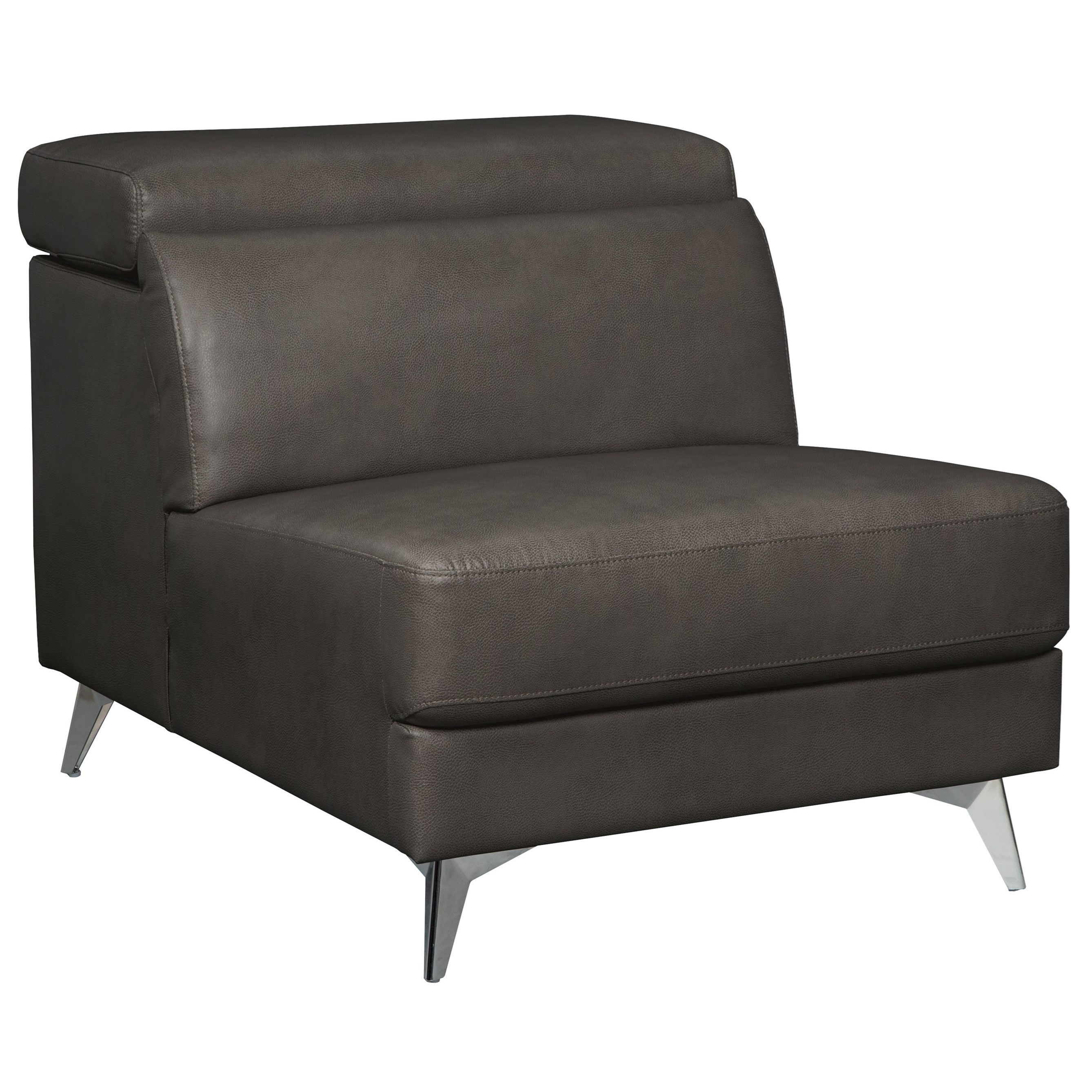 armless sofas design good cheap uk signature by ashley tindell contemporary