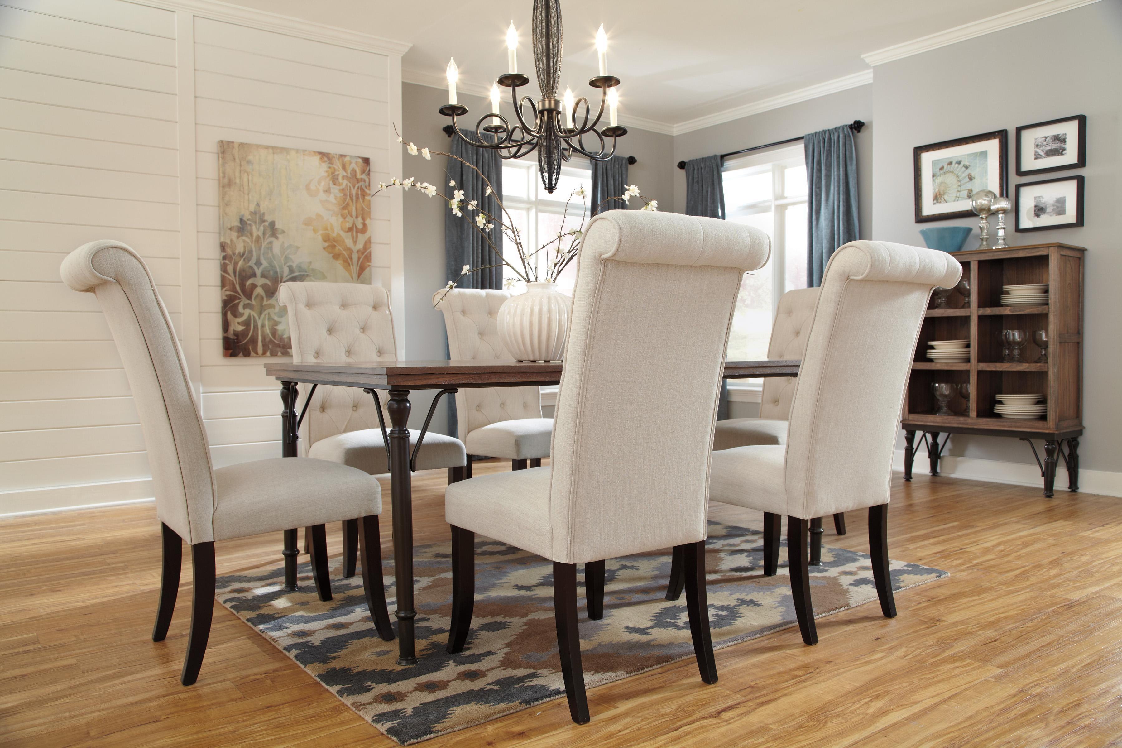 Ashley Dining Room Chairs Ashley Signature Design Tripton Dining Upholstered Side