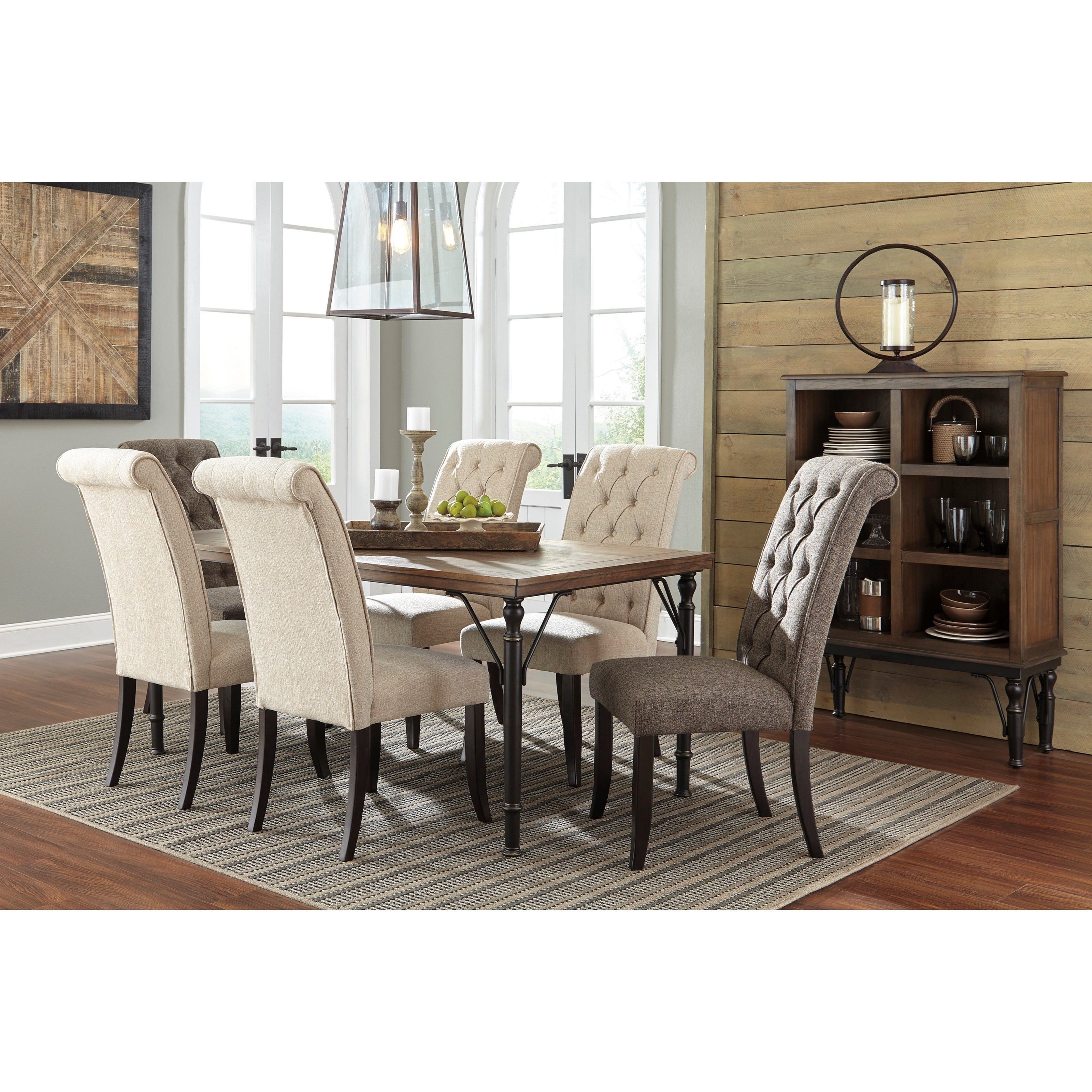 Ashley Dining Room Chairs Signature Design By Ashley Tripton D530 02 Dining