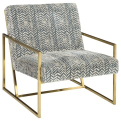 Steel Chair Gold St Tropez Hanging Ashley Signature Design Trucker A3000026 Finish Metal