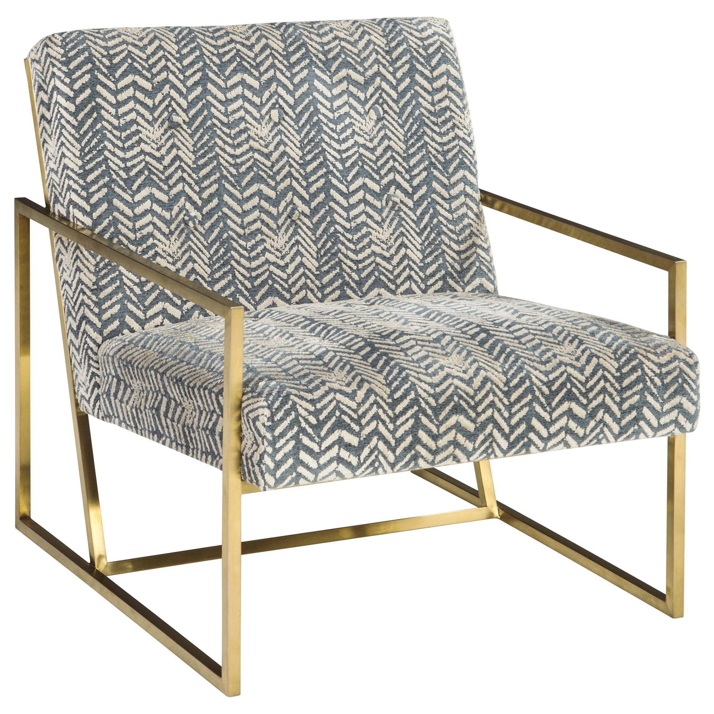 Gold Accent Chairs Signature Design By Ashley Trucker Gold Finish Metal Arm