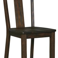 Ashley Furniture Dining Room Chairs Fosner High Back Chair Signature Design By Trudell D658 01 Solid Wood Pine
