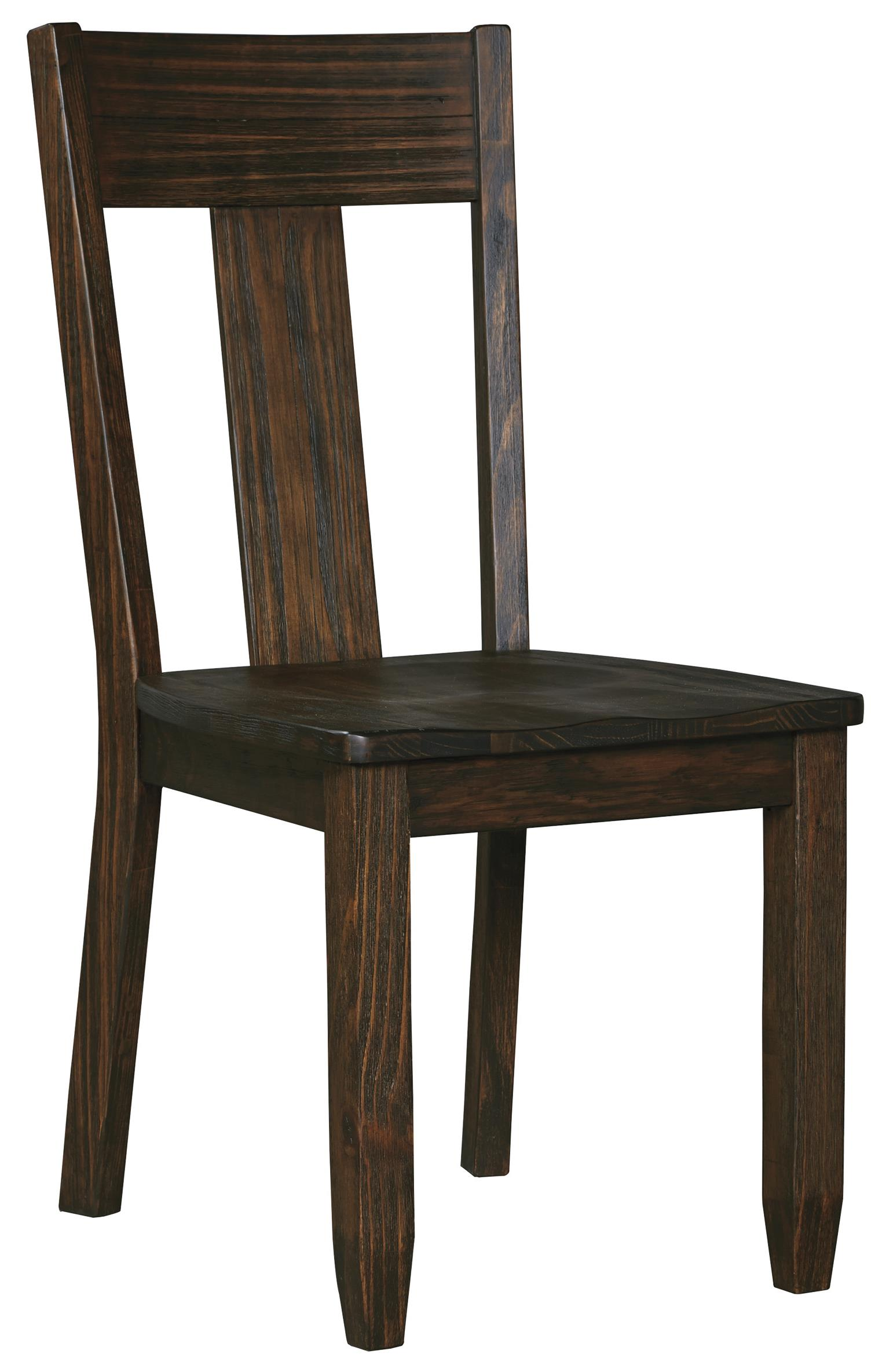 Ashley Dining Room Chairs Signature Design By Ashley Trudell Solid Wood Pine Dining