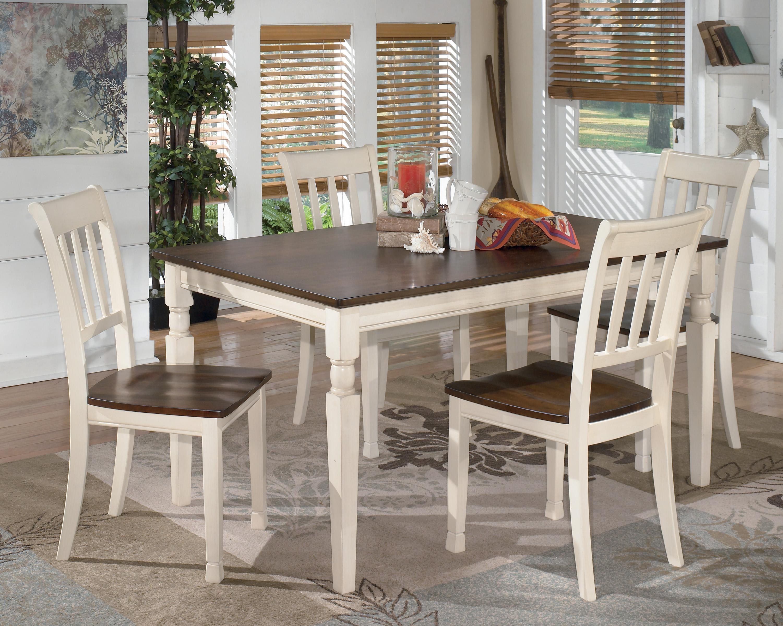 5 piece kitchen table set appliance parts signature design by ashley whitesburg rectangular