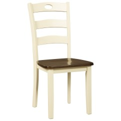 Ashley Dining Room Chairs Wedding Table And Chair Rentals Signature Design By Woodanville Two Tone Finish