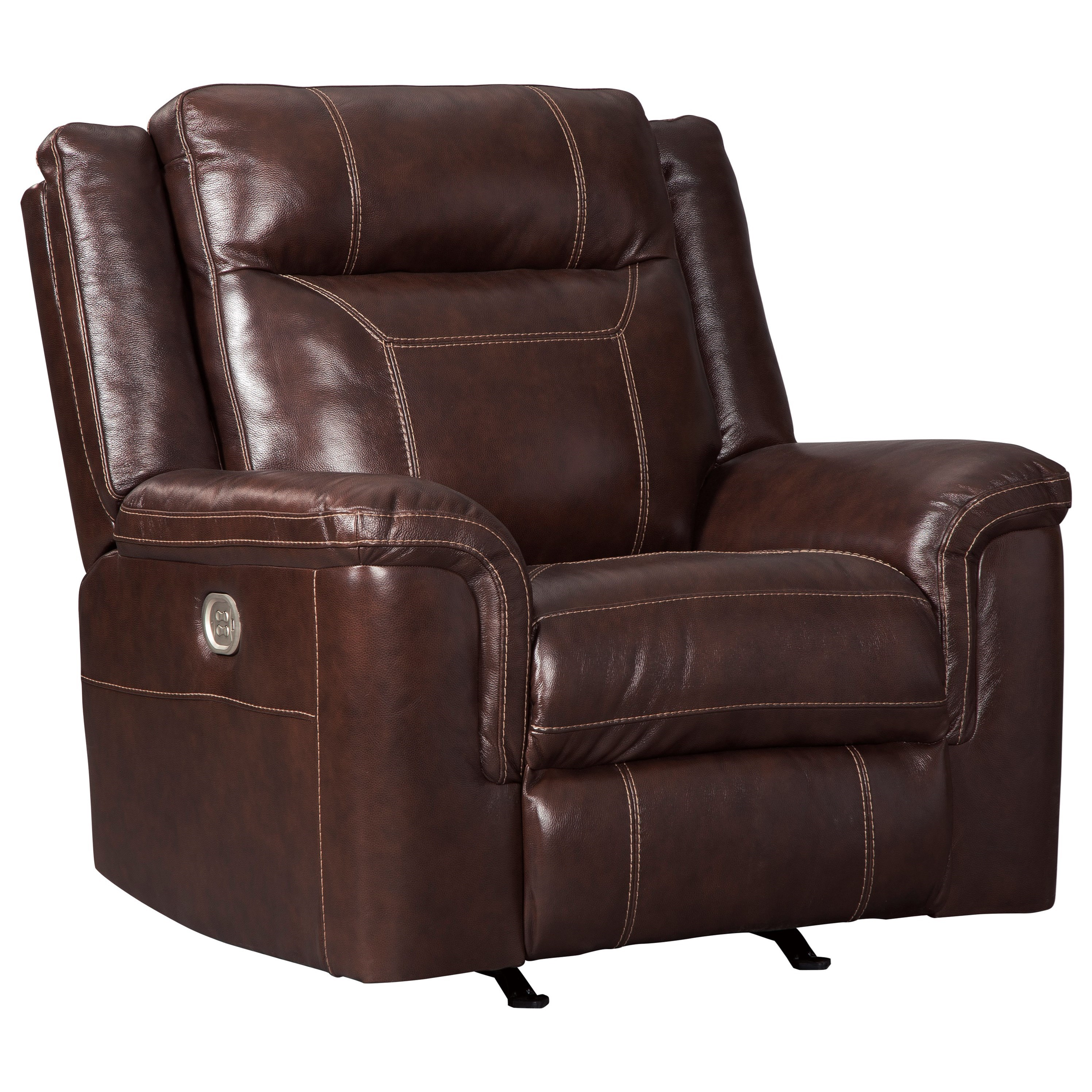 Power Reclining Chairs Signature Design By Ashley Wyline Power Rocker Recliner