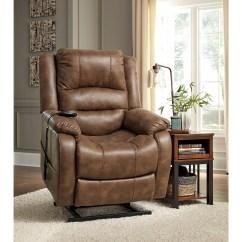 Ashley Furniture Lift Chair Wheelchair Near Me Signature Design Yandel 1090012 Faux Leather Power