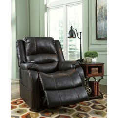 Ashley Furniture Lift Chair Mesh Back Signature Design By Yandel 1090112 Faux Leather