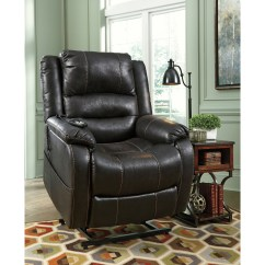 Ashley Furniture Lift Chair Drive Medical Bathroom Safety Shower Tub Bench Signature Design By Yandel 1090112 Faux Leather