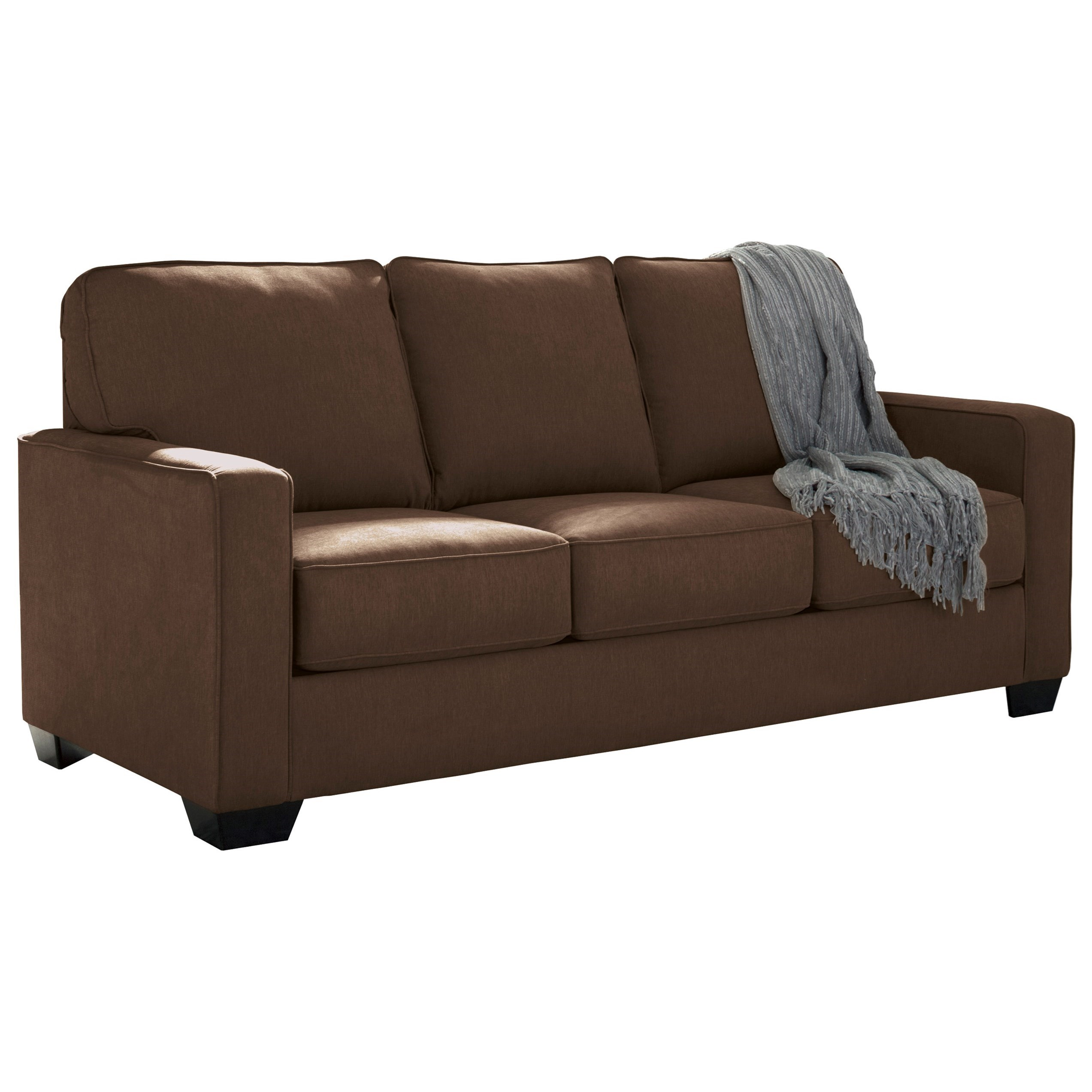 sleeper sofa comparison 2 seater size in inches signature design by ashley zeb 3590336 full