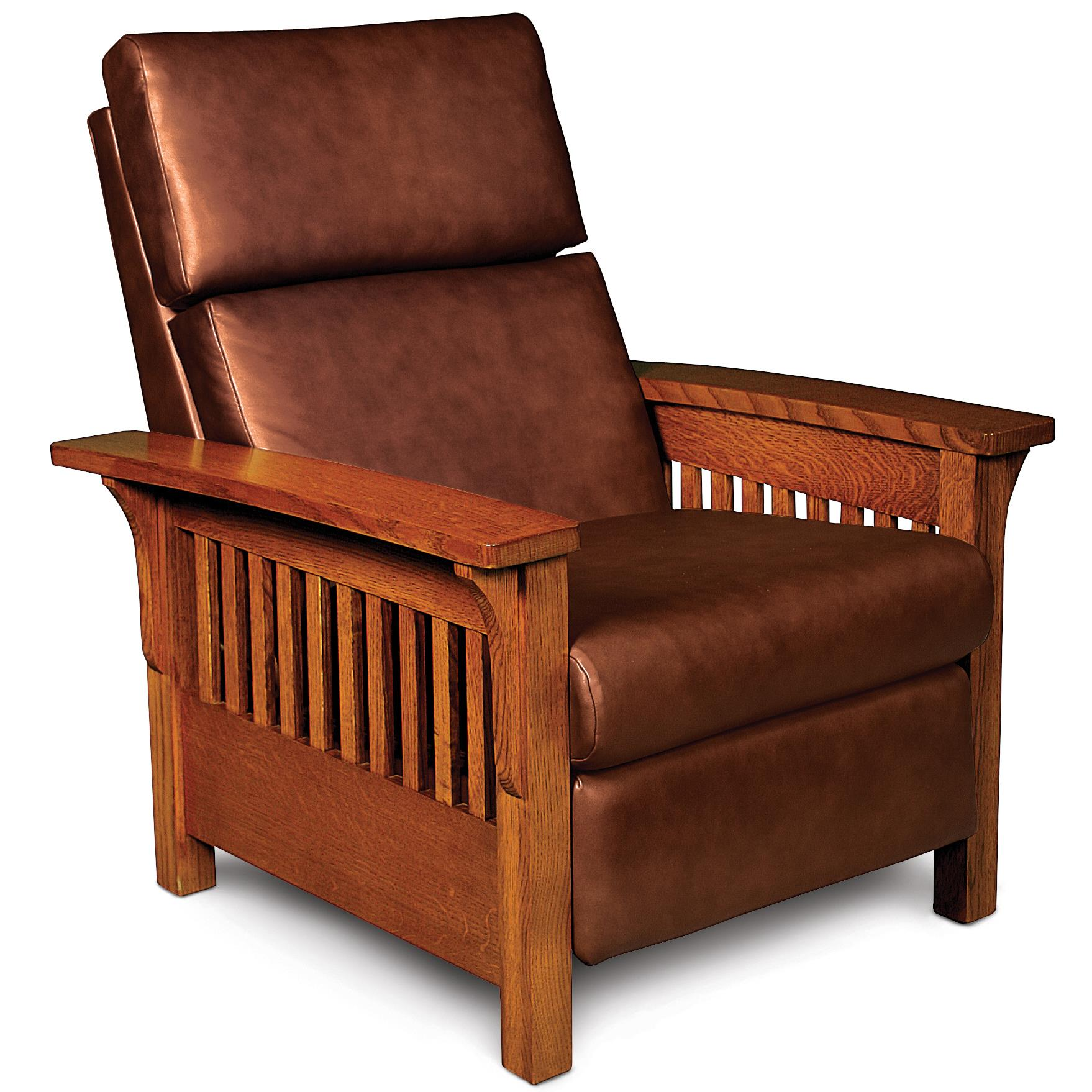 leather club chairs nebraska furniture mart patio set of 2 simply amish grand rapids xq26 ajhlr ld high leg recliner