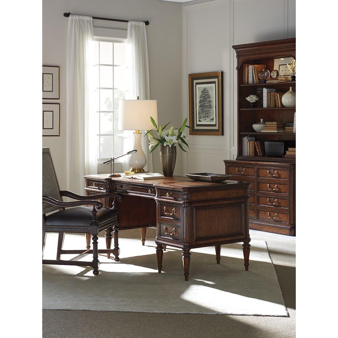 leather sofa richmond hill rv sleeper air mattress sligh 305 402 wesley desk with faux