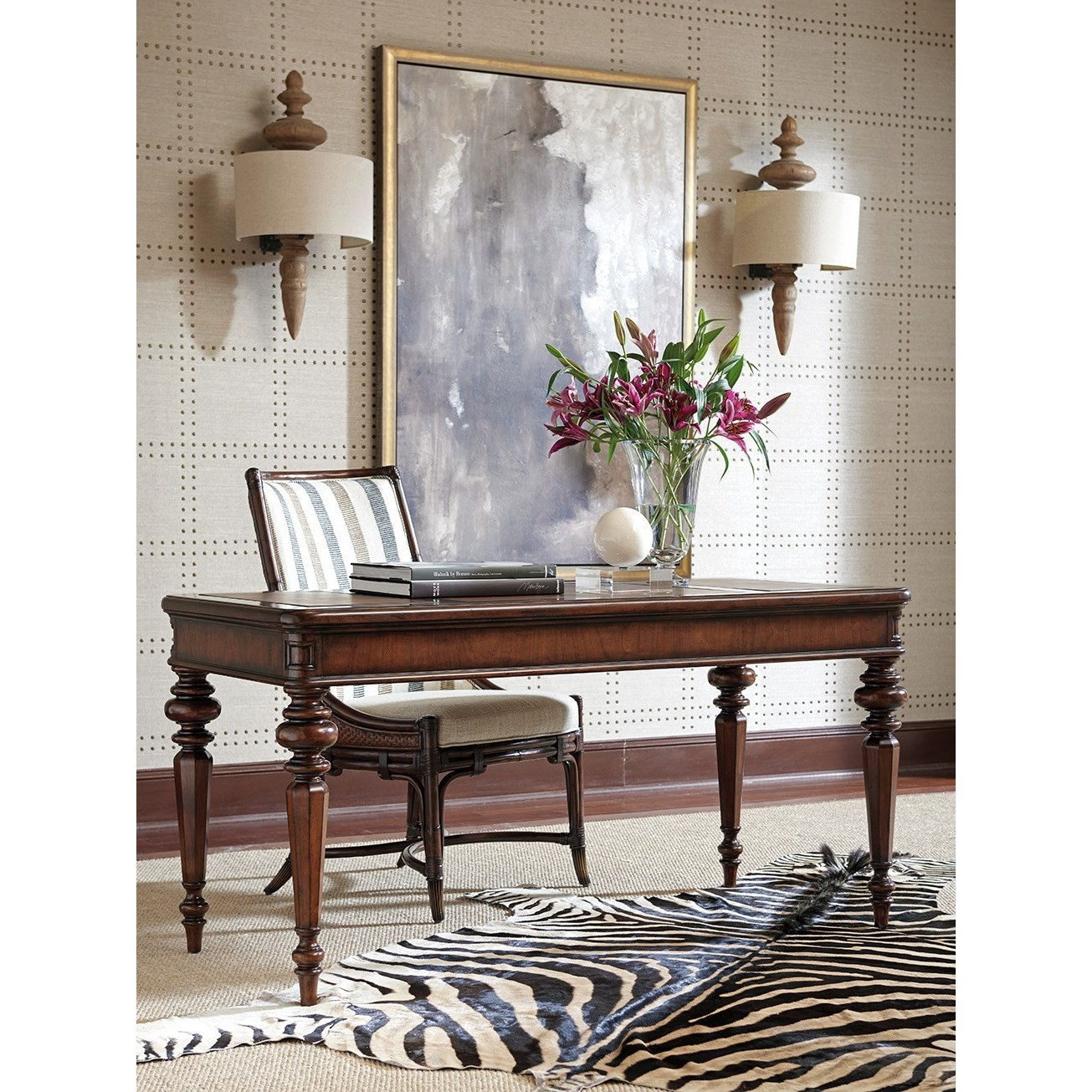 leather sofa richmond hill ikea tylosand covers uk sligh 305 412 rosslyn writing desk with faux