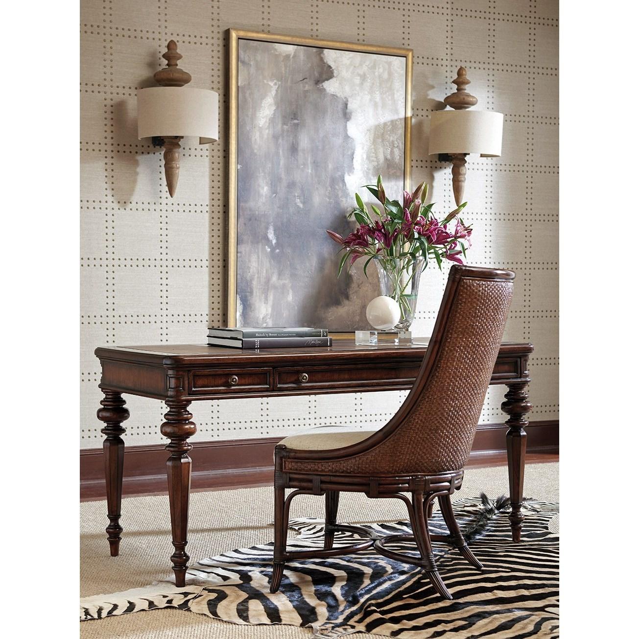 leather sofa richmond hill velvet corner ireland sligh 305 412 rosslyn writing desk with faux